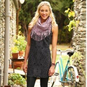Athleta Cherrywood dress sleeveless print
